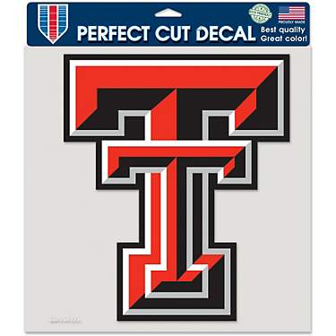 WinCraft Texas Tech University 8 in x 8 in Decal