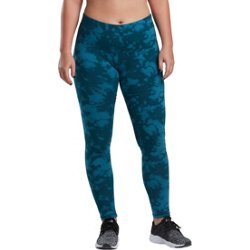 Women's Athletic Printed Cotton Leggings