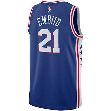 Nike Men's Philadelphia 76ers Joel Embiid 21 NBA Swingman Icon Edition Jersey
