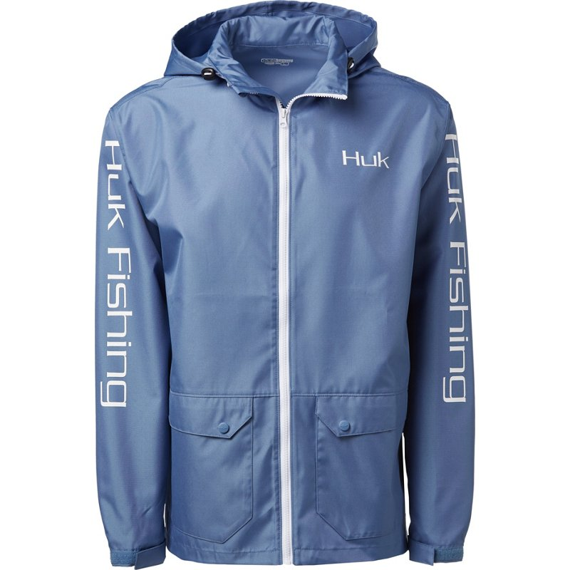 Huk Men's Breaker Jacket Riverside, Large - Men's Fishing Tops at Academy Sports