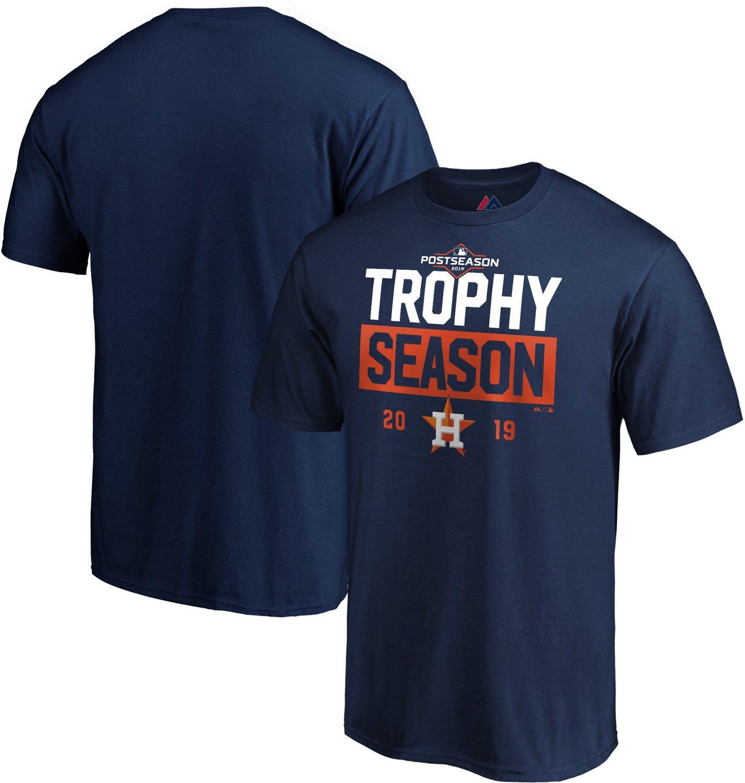 Astros Shirts >> Majestic Men S Houston Astros 2019 Postseason Around The Horn T Shirt