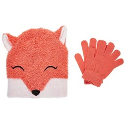 Girls' Critter Hat and Gloves Set