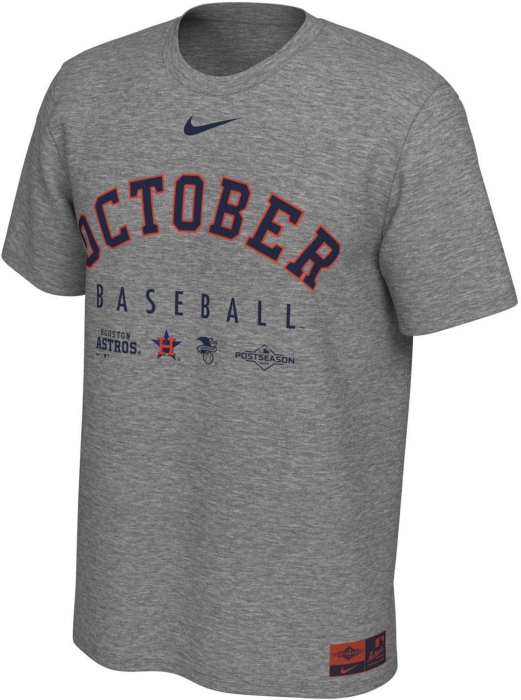 official photos 2f941 3aecd Nike Men's Houston Astros 2019 Postseason October Legend T ...