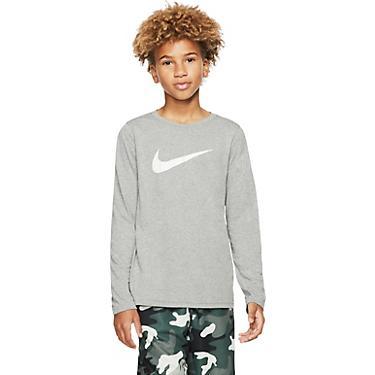 Nike Boys' Dri FIT Legend Long Sleeve Training T shirt