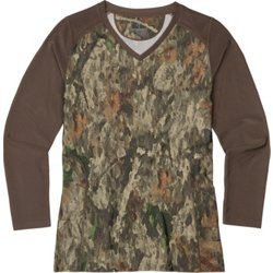 Women's Big Game A-TACS TD-X Tech Long Sleeve Hunting T-shirt