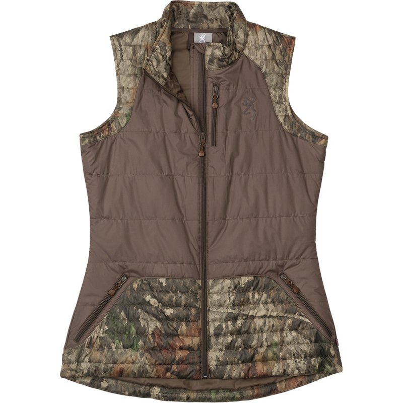Browning Women's Hunting Puffy Vest, Medium – Ladies Insulated Camo at Academy Sports