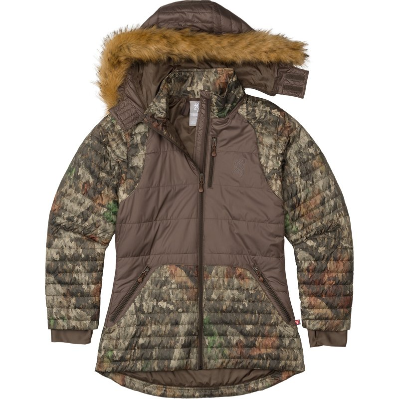 Browning Women's Puffer Hunting Parka, Small - Ladies Insulated Camo at Academy Sports thumbnail
