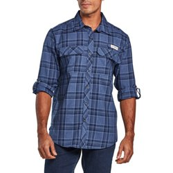 Men's Barton Creek Outdoor Plaid Long Sleeve Shirt