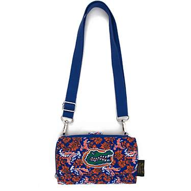 Eagles Wings Women's University of Florida Bloom Cross-Body Wallet