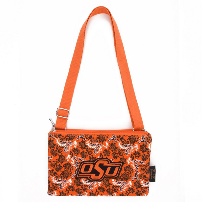 Eagles Wings Oklahoma State University Bloom Cross-Body Purse Orange - NCAA Novelty at Academy Sports (122787382 10175) photo