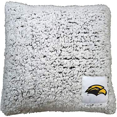 Logo University of Southern Mississippi Frosty Fleece Pillow