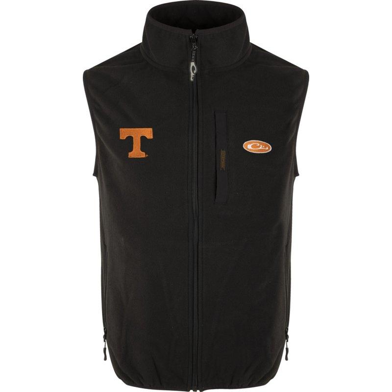 Drake Waterfowl Men's University of Tennessee Camp Fleece Vest Black, 2X-Large – NCAA Men's Fleece/Jackets at Academy Sports
