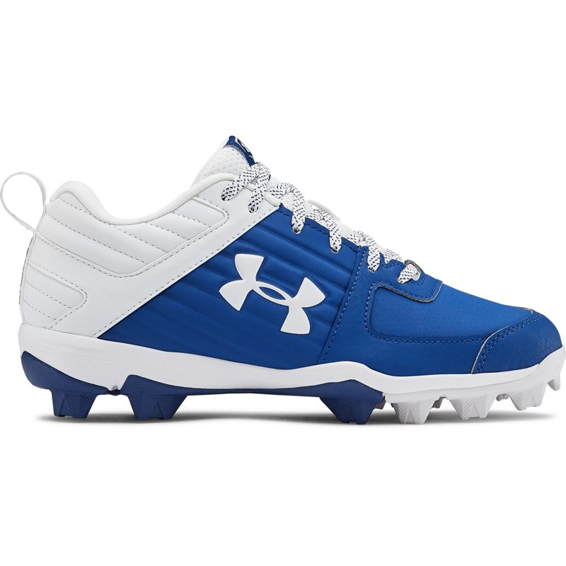 Under Armour Boys' Leadoff Low Baseball Cleats Royal, 12 - Youth Baseball at Academy Sports (119916374 3022072-400) photo