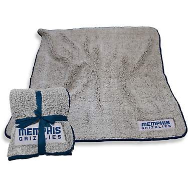 Logo Memphis Grizzlies Frosty Fleece Blanket