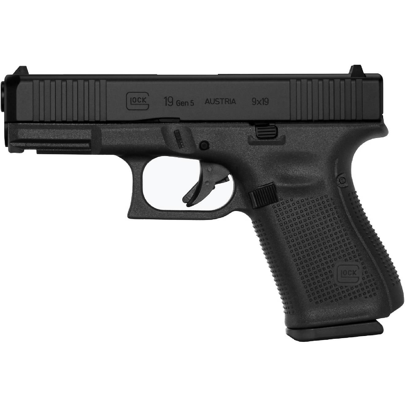 GLOCK G19 Gen5 9mm Semiautomatic Pistol                                                                                          - view number 1