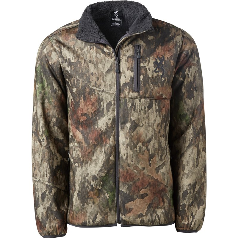 Browning Men's Highpile Wasilla Hunting Jacket, Large – Adult Insulated Camo at Academy Sports