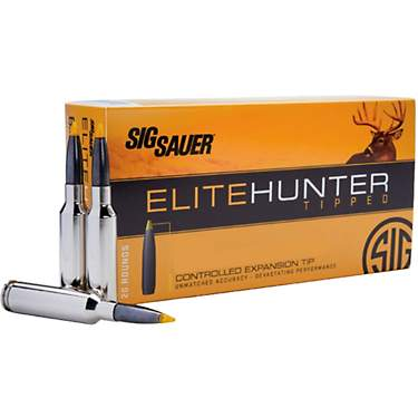 SIG SAUER Elite Hunter Tipped Ammunition