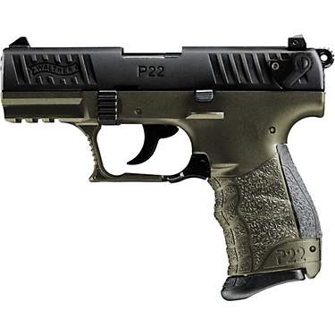 Walther Arms P22 Q OD Green .22 LR Pistol