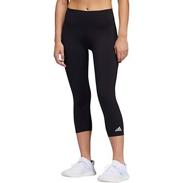 adidas Women's Believe This 3-Stripes Capri Tights
