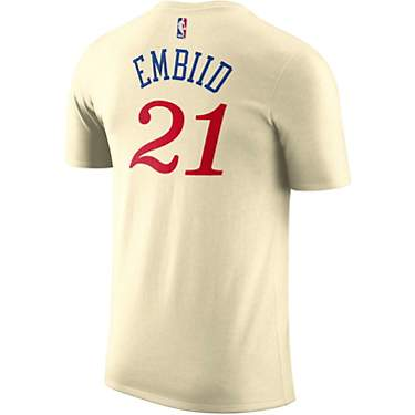 Nike Men's Philadelphia 76ers Joel Embiid 21 Dri-FIT City Edition Fanwear T-shirt
