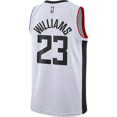 Nike Men's Los Angeles Clippers Lou Williams 23 Swingman City Edition Jersey
