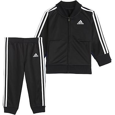 adidas Toddler Boys' Full Zip Jacket and Joggers Tricot Tracksuit Set