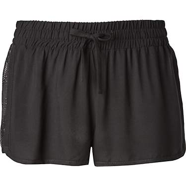O'Rageous Women's Crochet Inset Swim Shorts