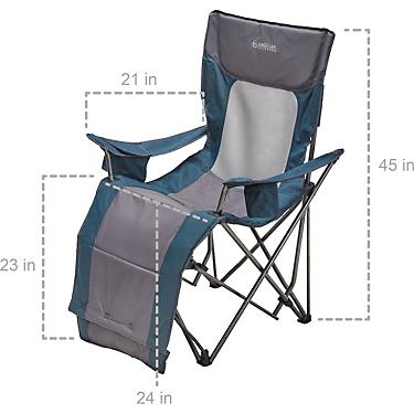 Remarkable Magellan Outdoors Oversize Collapsible Recliner Ncnpc Chair Design For Home Ncnpcorg