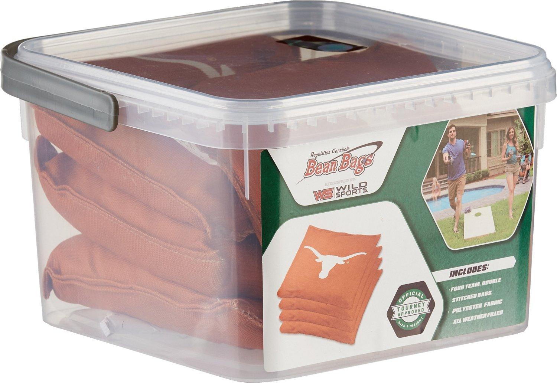 Terrific Wild Sports University Of Texas Cornhole Bean Bag Set Dailytribune Chair Design For Home Dailytribuneorg