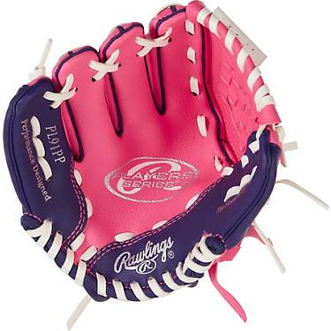 Rawlings Girls' Players 9 in T-ball Utility Glove