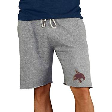 College Concept Men's Texas State University Mainstream Shorts 9 in