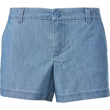 Magellan Outdoors Women's Happy Camper Chambray Shorts
