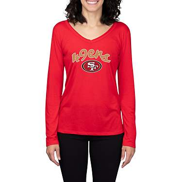 College Concept Women's San Francisco 49ers Marathon Long Sleeve Top