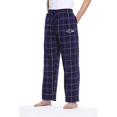 College Concept Men's Baltimore Ravens Ultimate Flannel Pants