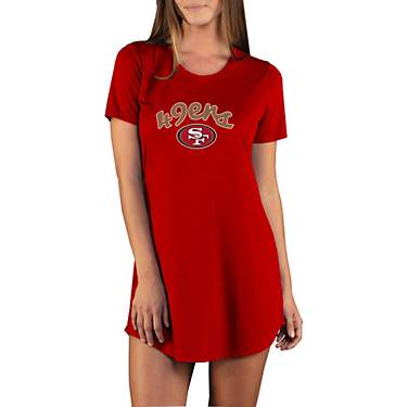 College Concept Women's San Francisco 49ers Marathon Night Shirt