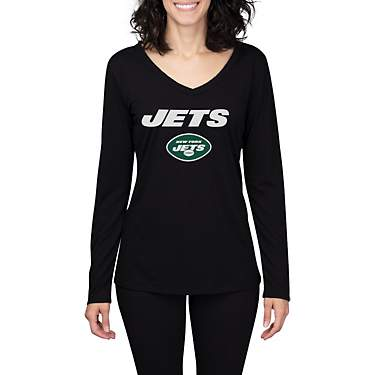 College Concept Women's New York Jets Marathon Long Sleeve Top