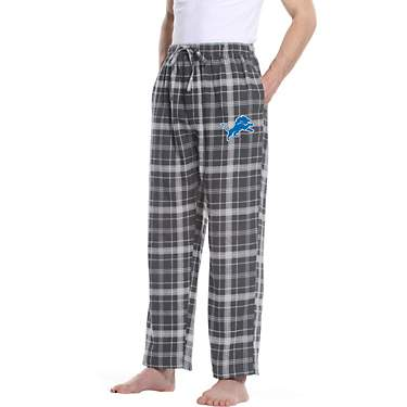 College Concept Men's Detroit Lions Ultimate Flannel Pants