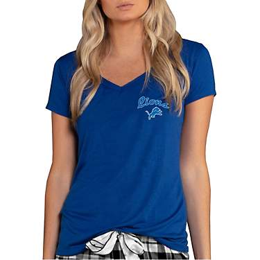 College Concept Women's Detroit Lions Side Marathon Top