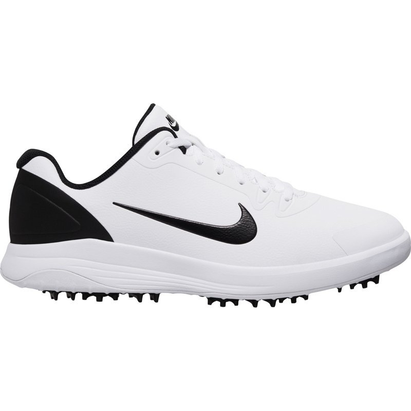 Nike Men's Infinity G Golf Shoes White/Black, 08.5 / 10 - Men's Golf Shoes at Academy Sports
