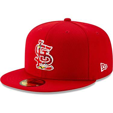 New Era Men's St. Louis Cardinals 59FIFTY On-Field Batting Practice Ball Cap