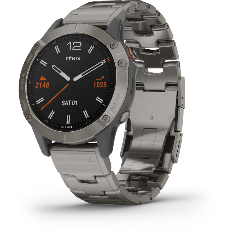 Garmin fenix 6 Sapphire Smart Watch Gray - Exercise Accessories at Academy Sports