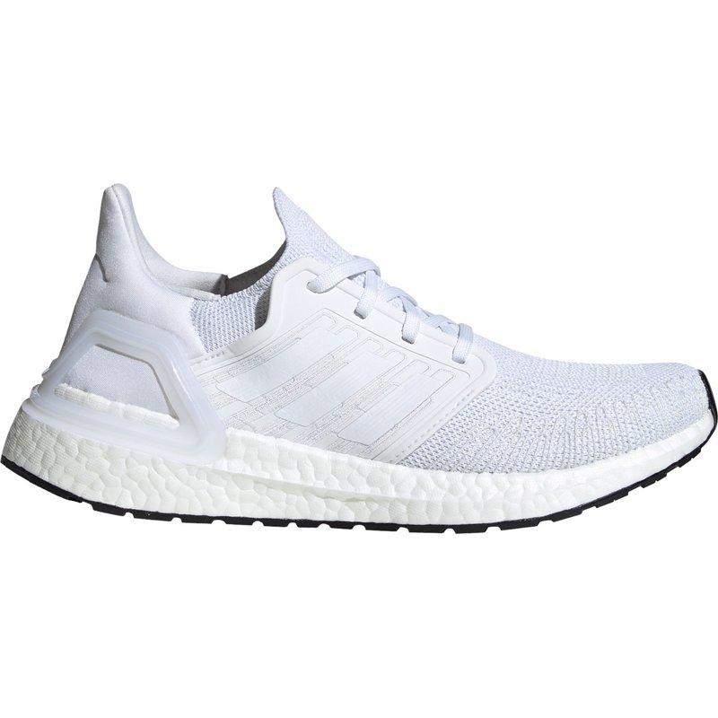Adidasadidas Women's UltraBOOST 20 Running Shoes White/Black, 6.5 ...