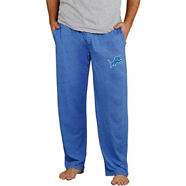 College Concept Men's Detroit Lions Quest Knit Pants