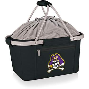 Picnic Time East Carolina University Metro Basket Collapsible Tote