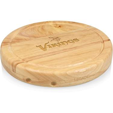 Picnic Time Minnesota Vikings Circo Cheese Cutting Board Set