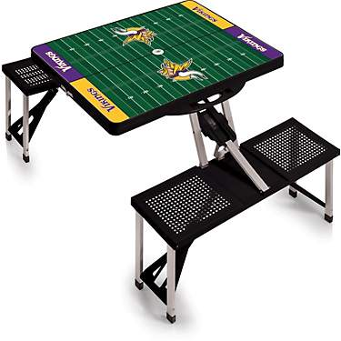 Picnic Time Minnesota Vikings Portable Picnic Table