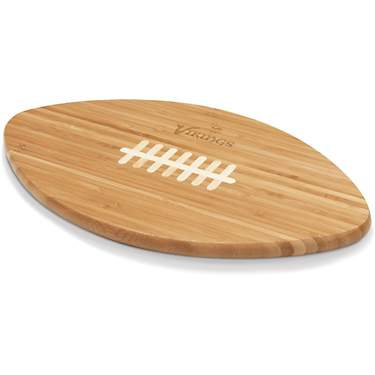 Picnic Time Minnesota Vikings Touchdown Football Cutting Board and Serving Tray