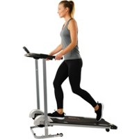 Deals on Sunny Health & Fitness Manual Walking Treadmill SF-T1407M