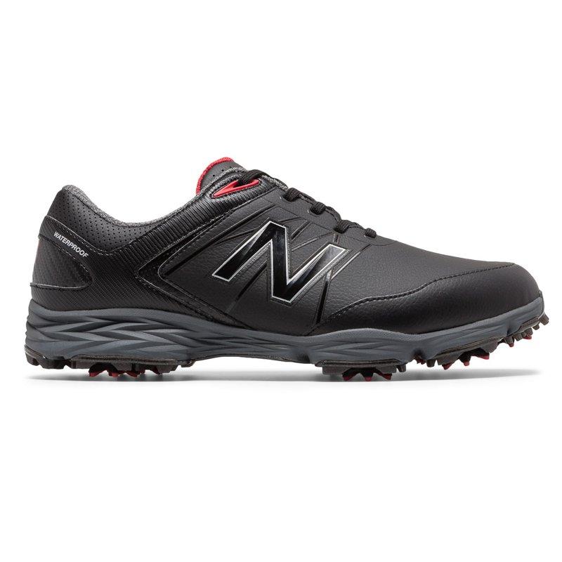 New Balance Men's Striker Golf Shoes Black/Red, 8.5 - Men's Golf Shoes at Academy Sports