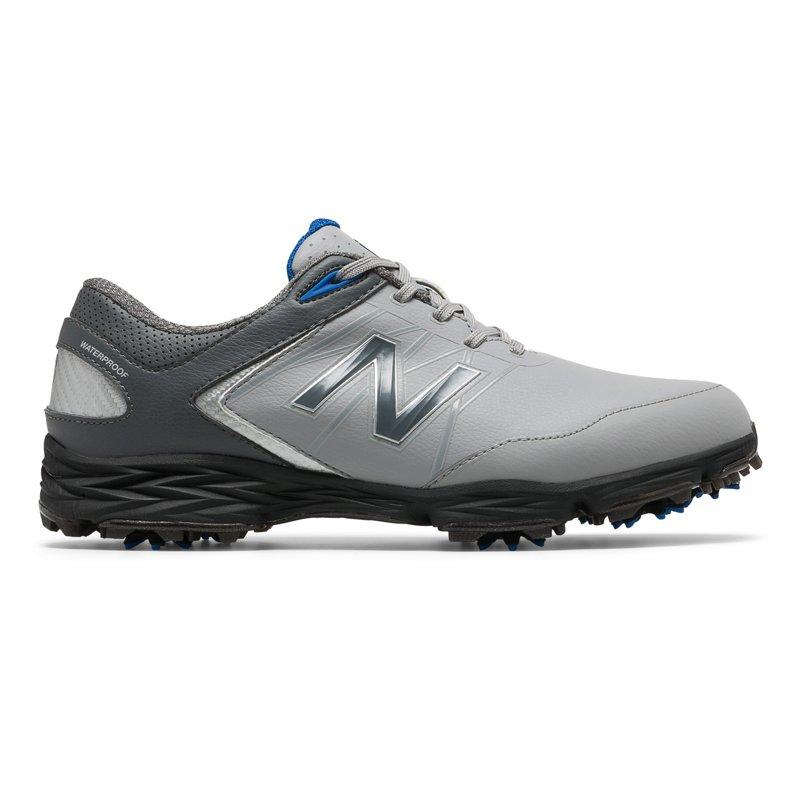 New Balance Men's Striker Golf Shoes Gray/Blue, 9.5 - Men's Golf Shoes at Academy Sports